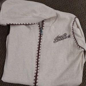 Harley Davidson Women's Sweater Jacket
